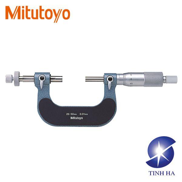 Dòng Panme cơ khí đo bánh răng series124 Mitutoyo