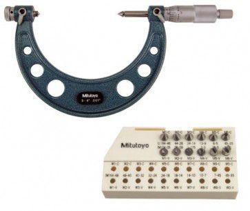 Dòng Panme cơ khí đo trục vít Mitutoyo series 126-140