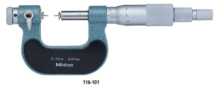 Dòng Panme đo ngoài cơ khí đa năng Mitutoyo series116-101
