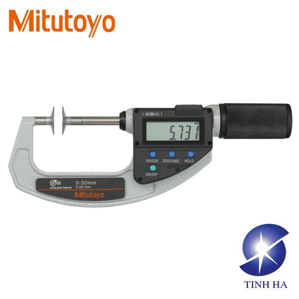 Panme đo ngoài điện tử đầu đĩa tròn series 369, 227 Mitutoyo