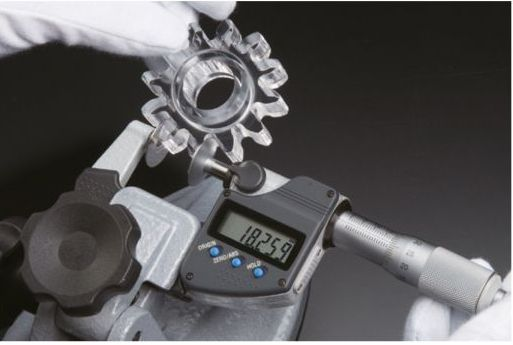 Panme đo ngoài điện tử đầu đĩa tròn series 323 Mitutoyo