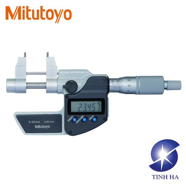 Digital Inside Micrometers Series 345 - Caliper Type