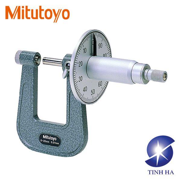 Dòng Panme cơ khí đo tấm kim loại phẳng series119 Mitutoyo