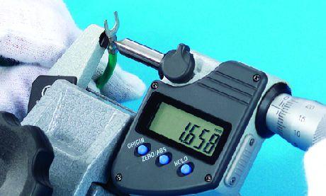 Panme đo chiều cao các điểm tiếp xúc có độ uốn series342
