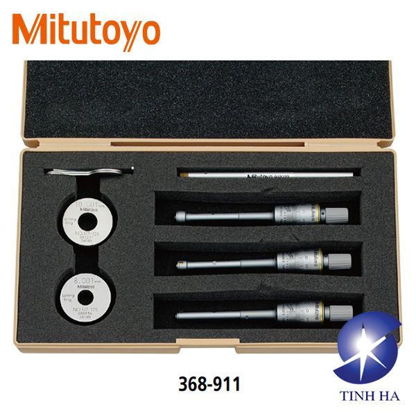 Dòng panme đo lỗ cơ khí 2 chấu/ 3 chấu series 368 Mitutoyo