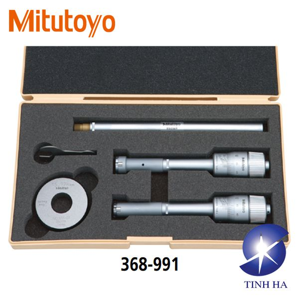 Holtest (Type II) Series 368 - Three-point Internal Micrometers