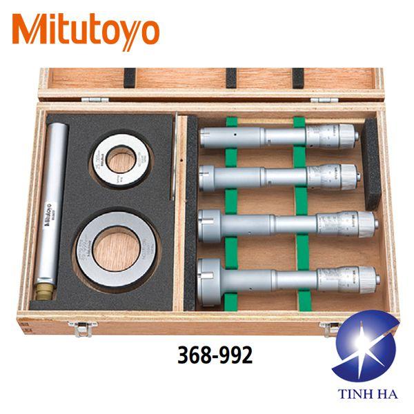 Panme đo lỗ cơ khí ba chấu series 368 (Type II) Mitutoyo