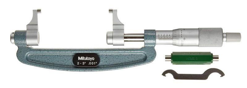 Panme đo ngoài cơ khí kiểu thước cặp series 143-123 Mitutoyo