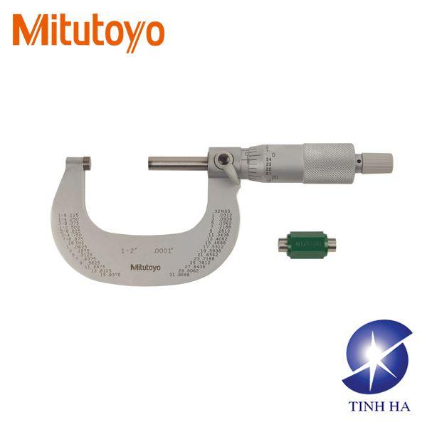 Dòng Panme đo ngoài cơ khí Mitutoyo series 101