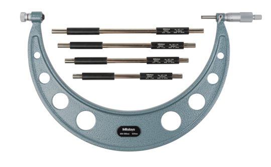 Panme đo ngoài cơ khí Mitutoyo series 104-141A