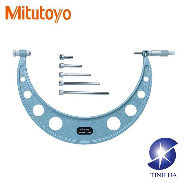 Panme đo ngoài cơ khí Mitutoyo series 104