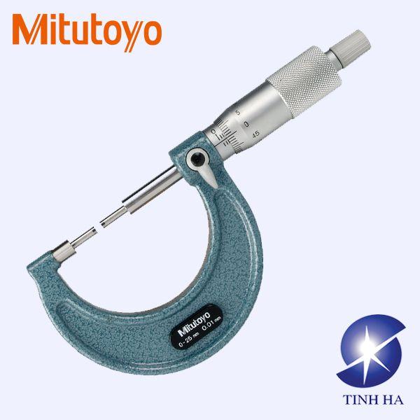 Dòng panme đo ngoài cơ khí Spline series 111, 131 Mitutoyo