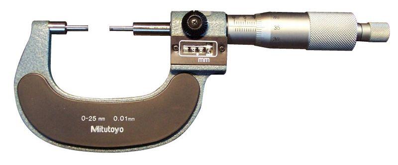 Dòng panme đo ngoài cơ khí Spline series 131-115 Mitutoyo