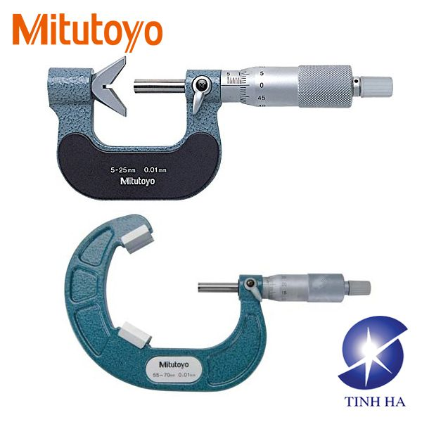V-Anvil Micrometers 114 - 3 Flutes & 5 Flutes