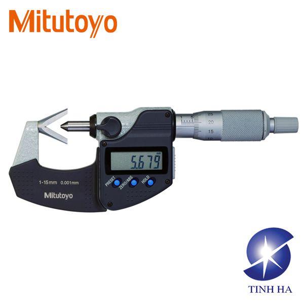 Panme đo ngoài có đầu cố định chữ V series 314 Mitutoyo