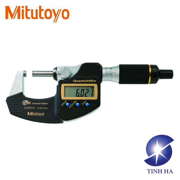 QuantuMike Series 293 - IP65 Micrometer with 2 mm/rev Spindle Feed