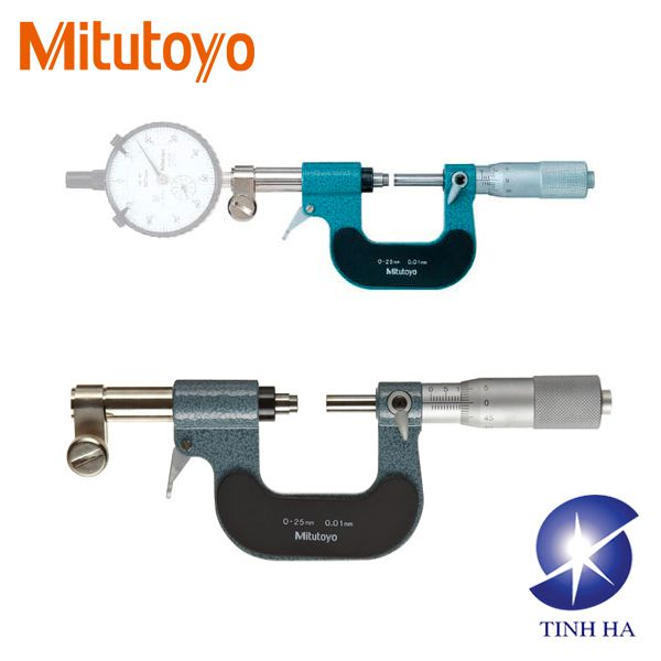 Dòng Panme mặt đồng hồ đo series 107 Mitutoyo