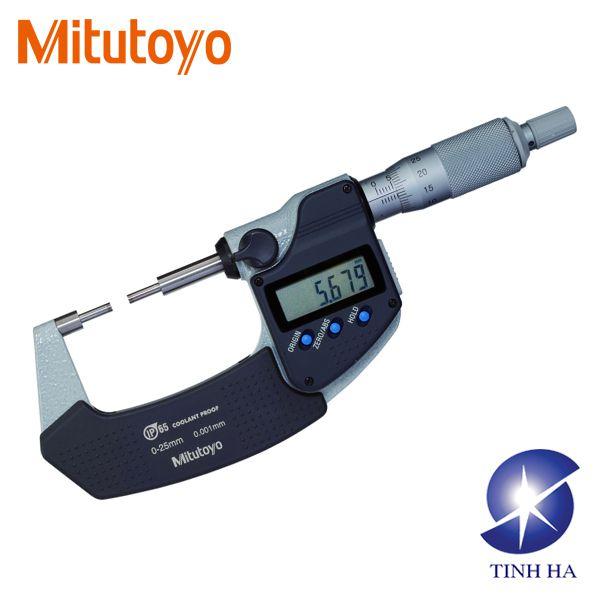 Panme đo ngoài kỹ thuật số Spline series 331 Mitutoyo