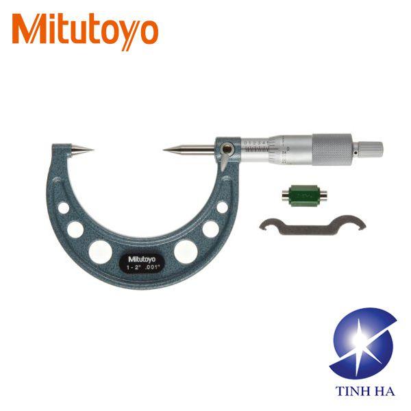 Dòng Panme cơ khí kiểu đầu kẹp nhọn series112/142 Mitutoyo