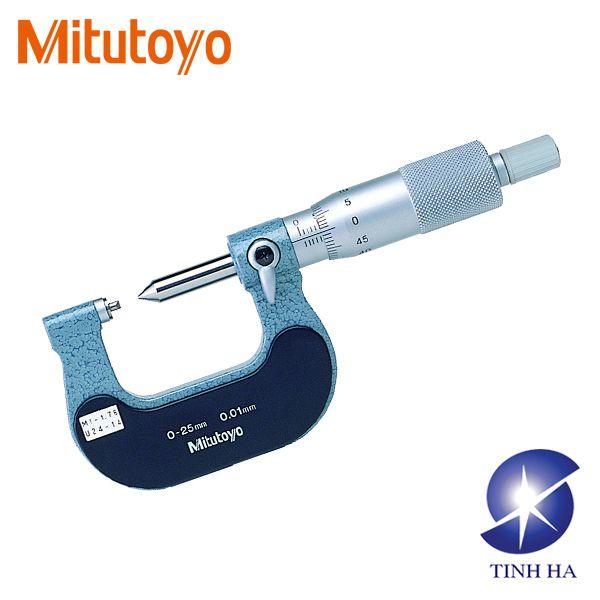 Dòng Panme cơ khí đo trục vít series 125 Mitutoyo