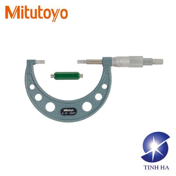 Dòng Panme cơ khí kiểu đầu dẹt Mitutoyo series122
