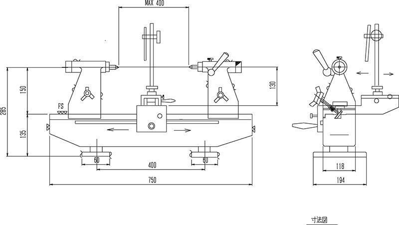 Thiết bị đo độ đồng tâm RSK loại SG No.562S