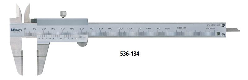 Dòng thước cặp có mỏ kẹp kiểu lưỡi mỏng đo rãnh hẹp series 536
