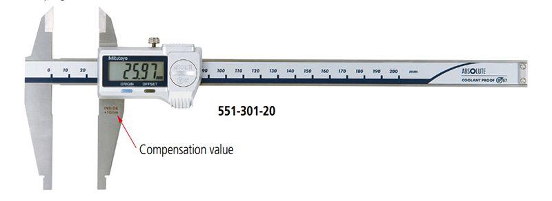 Dòng thước cặp điện tử ABSOLUTE series 551 Mitutoyo