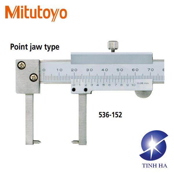 Thước cặp du xích đo cổ trục 536-151 / 536-152