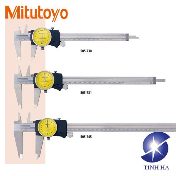 Dòng thước cặp mặt đồng hồ số Mitutoyo series 505
