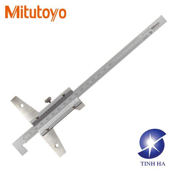 Dòng thước đo sâu cơ khí kiểu móc cuối Mitutoyo series 527
