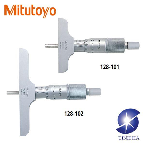 Dòng thước đo độ sâu series 128 Mitutoyo
