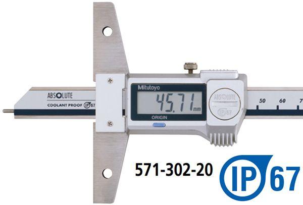 Dòng thước đo sâu điện tử kiểu móc cuối series 571 Mitutoyo