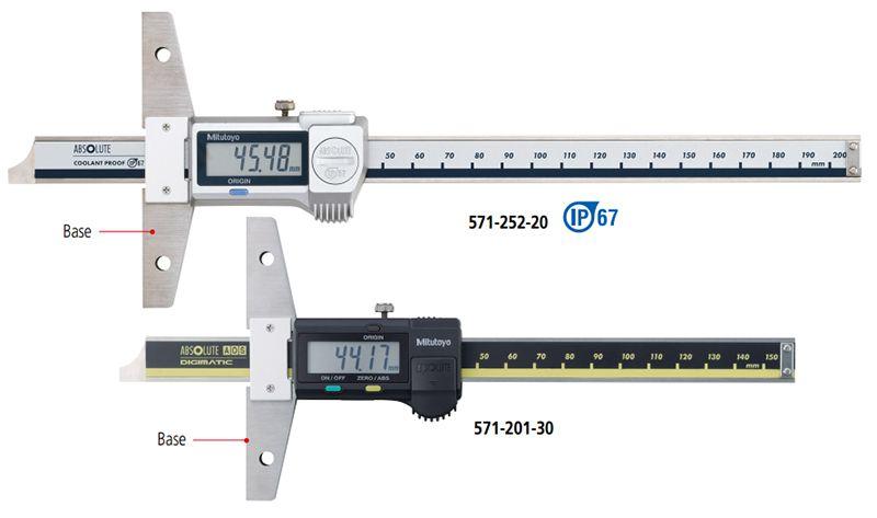 Thước đo sâu kỹ thuật số ABSOLUTE series 571 Mitutoyo