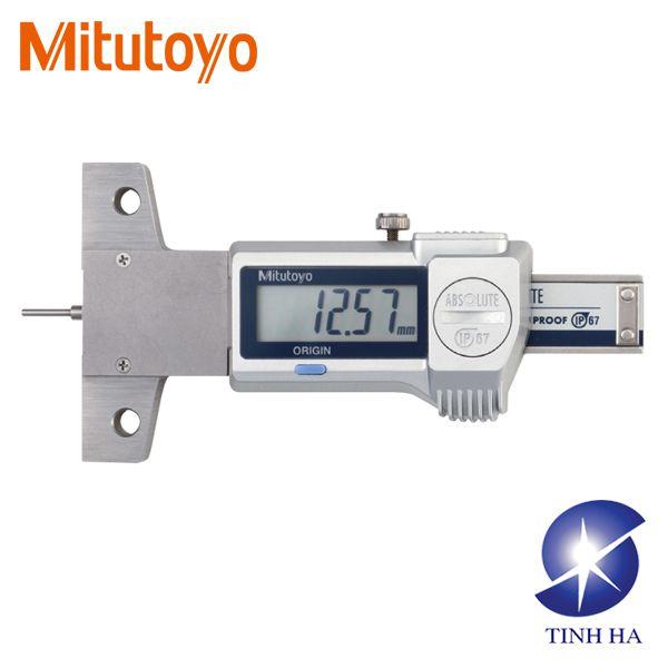 Thước đo sâu lỗ rãnh hẹp Mitutoyo 571-100-20