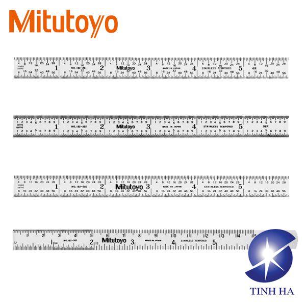 Thước lá thép Mitutoyo Series 182