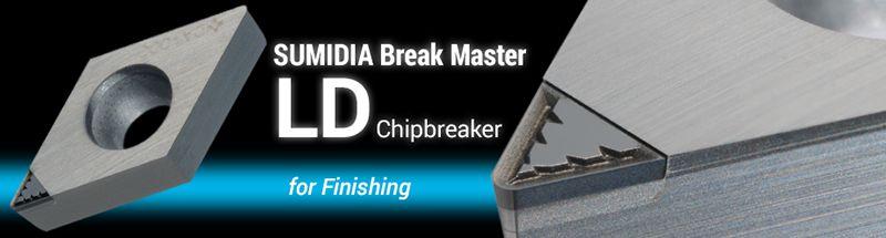 Mảnh dao tiện SUMIDIA Break Master LD / GD type