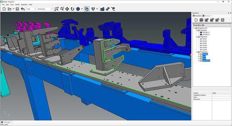 Phần mềm cho máy chiếu laser FARO BuildIT