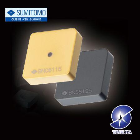 Dòng mảnh dao tiện SUMIBORON BNC8115 / BNS8125