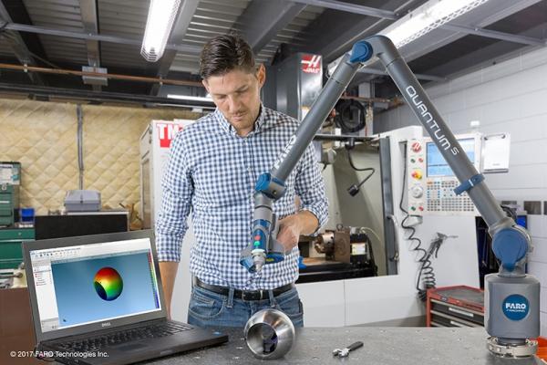 Máy đo quét laser 3D di động FARO Quantum ScanArm