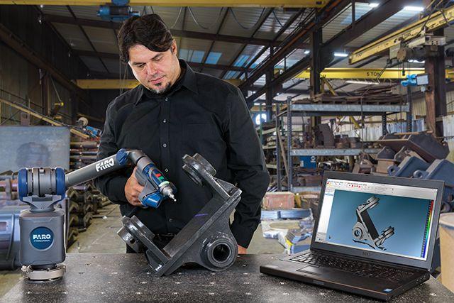 Thông số kỹ thuật các dòng máy đo quét laser 3D FARO Quantum ScanArm