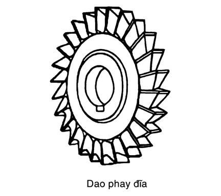 dao phay đĩa