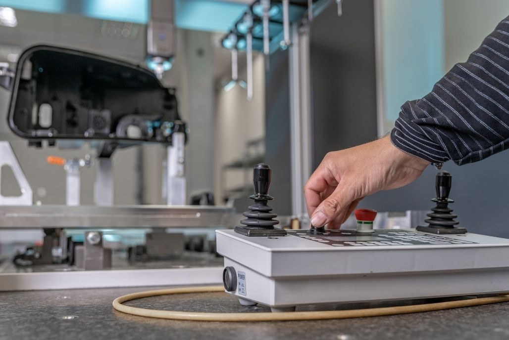 What is a CMM machine?