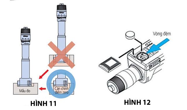 Cách kiểm tra, sử dụng và bảo quản thước đo lỗ điện tử (panme đo lỗ 3 chấu) Mitutoyo