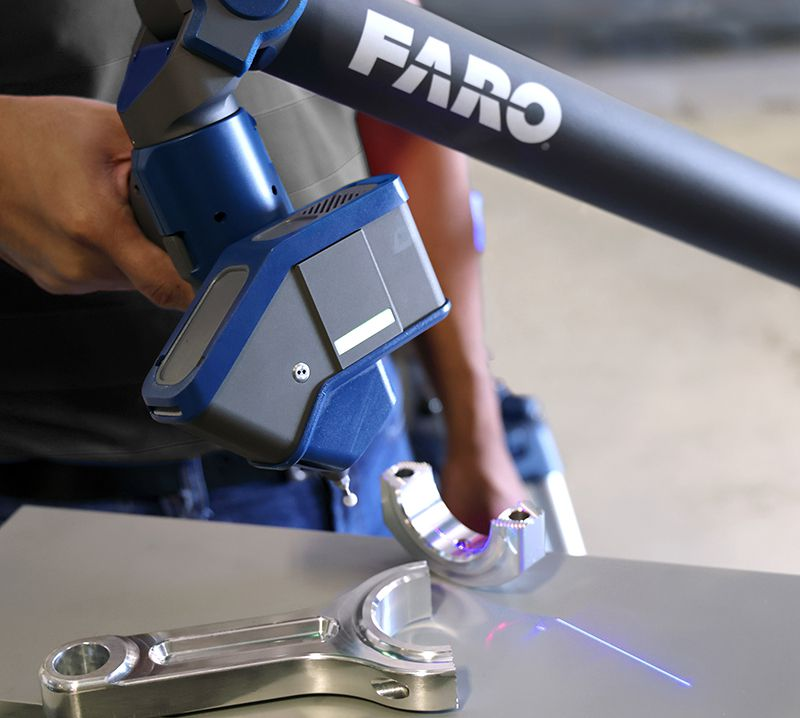 Máy đo quét laser 3D FARO Quantum Max ScanArms