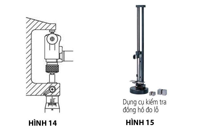 Hướng dẫn kiểm tra, sử dụng và bảo dưỡng đồng hồ đo lỗ Mitutoyo