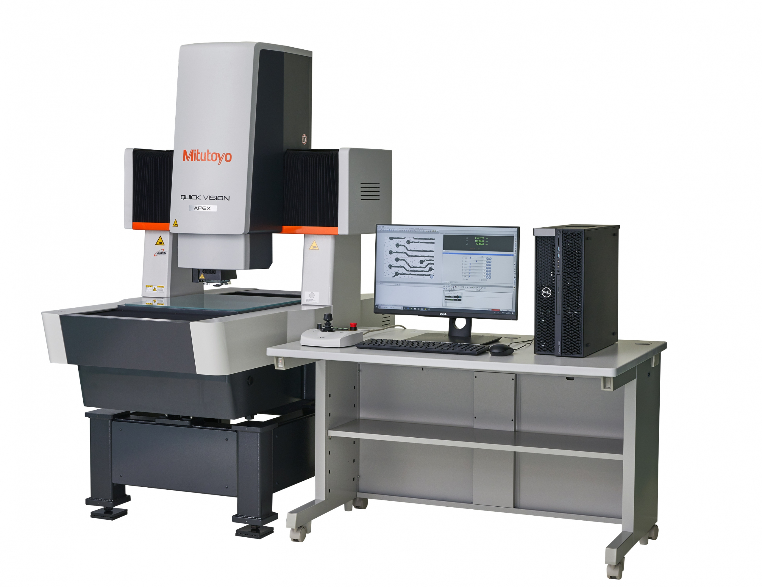 """Mitutoyo releases its CNC Vision Measuring System """"Quick Vision Pro series"""" with improved measurement throughput and usability"""