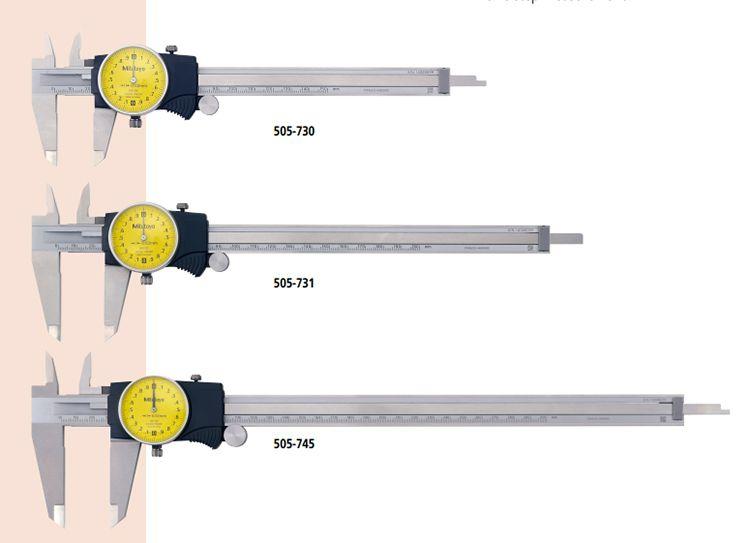Thước cặp mặt đồng hồ Mitutoyo series 505