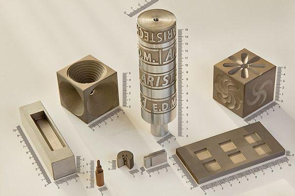 Một số sản phẩm được gia công từ phương pháp xung điện