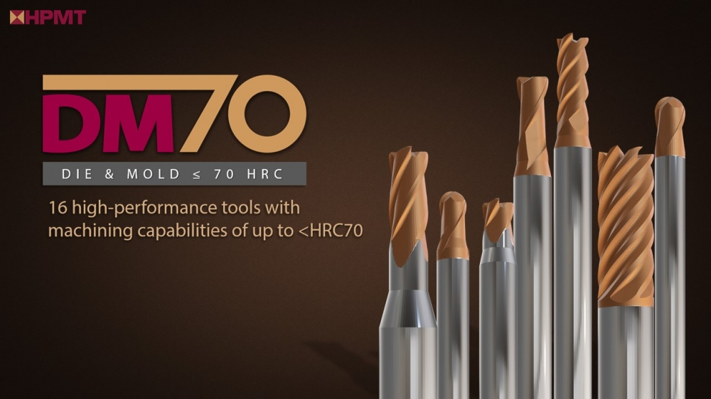 DM70 – HPMT's latest High-Performance series for Mould & Die applications